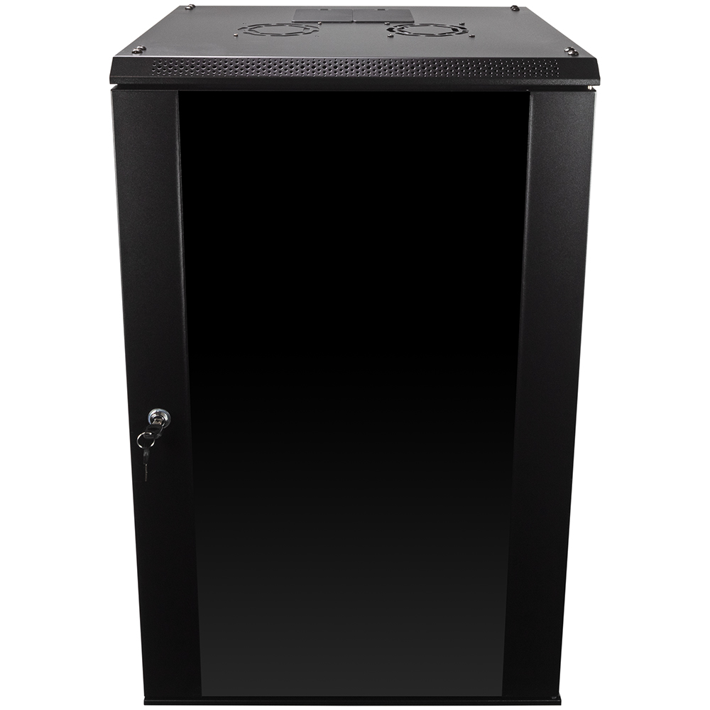 18u Wall Mount Network Server Data Cabinet Enclosure Rack